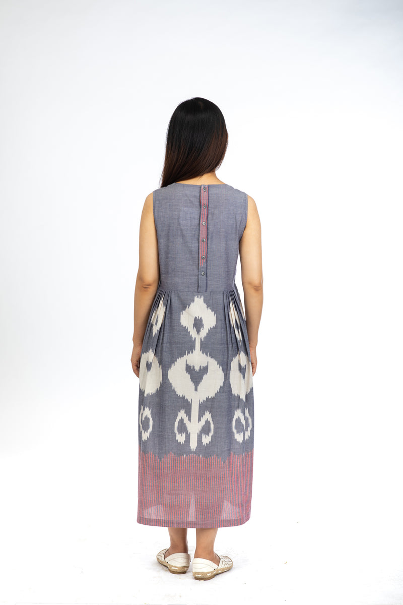 Blue Dahlia Sleeveless Maxi Dress