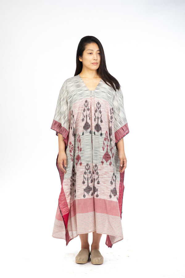 Space Dye Flower Kaftan