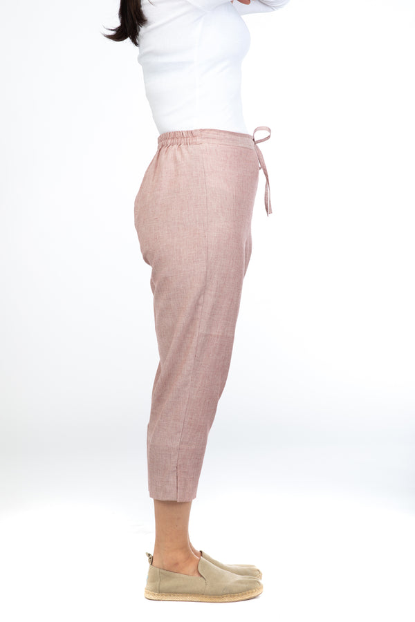Red Kismis Capri Trousers
