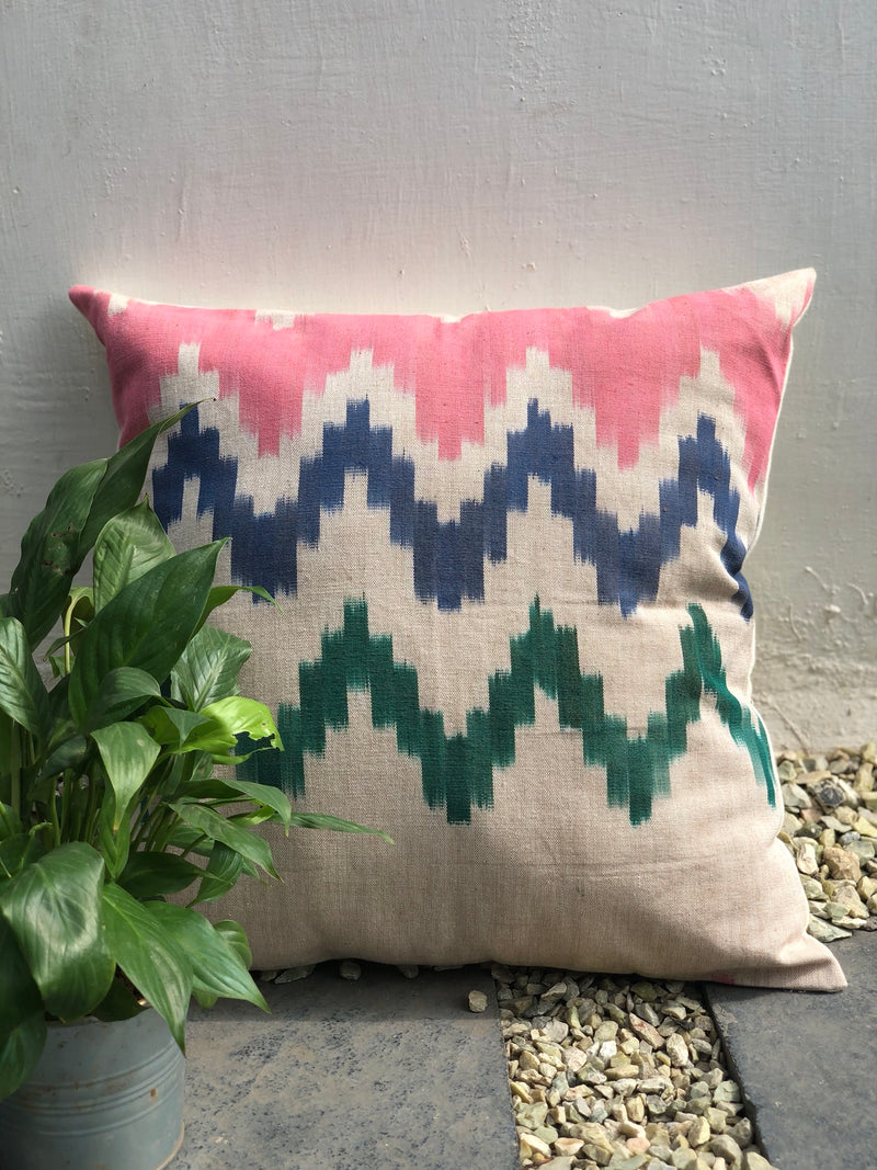 Multicolor Journey Cushion
