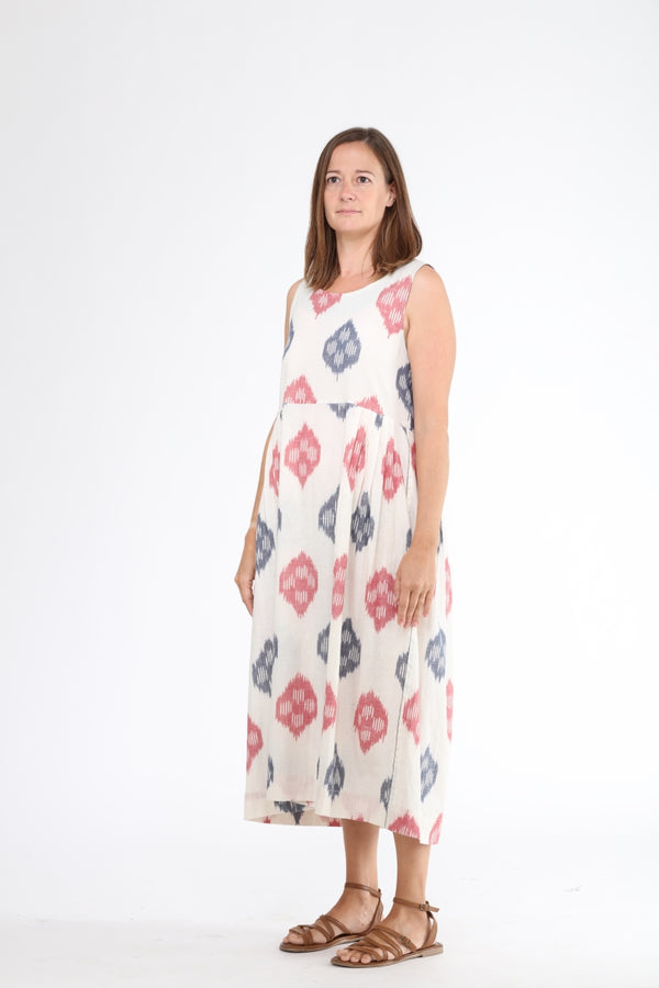 Lotus Stem Sleeveless Dress