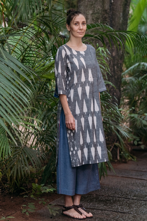 Whisper Pleat Kurta