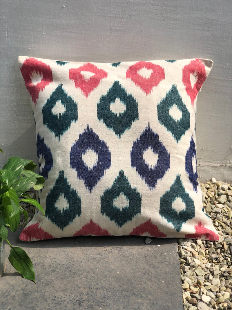 Overall Multicolor Drop Cushion