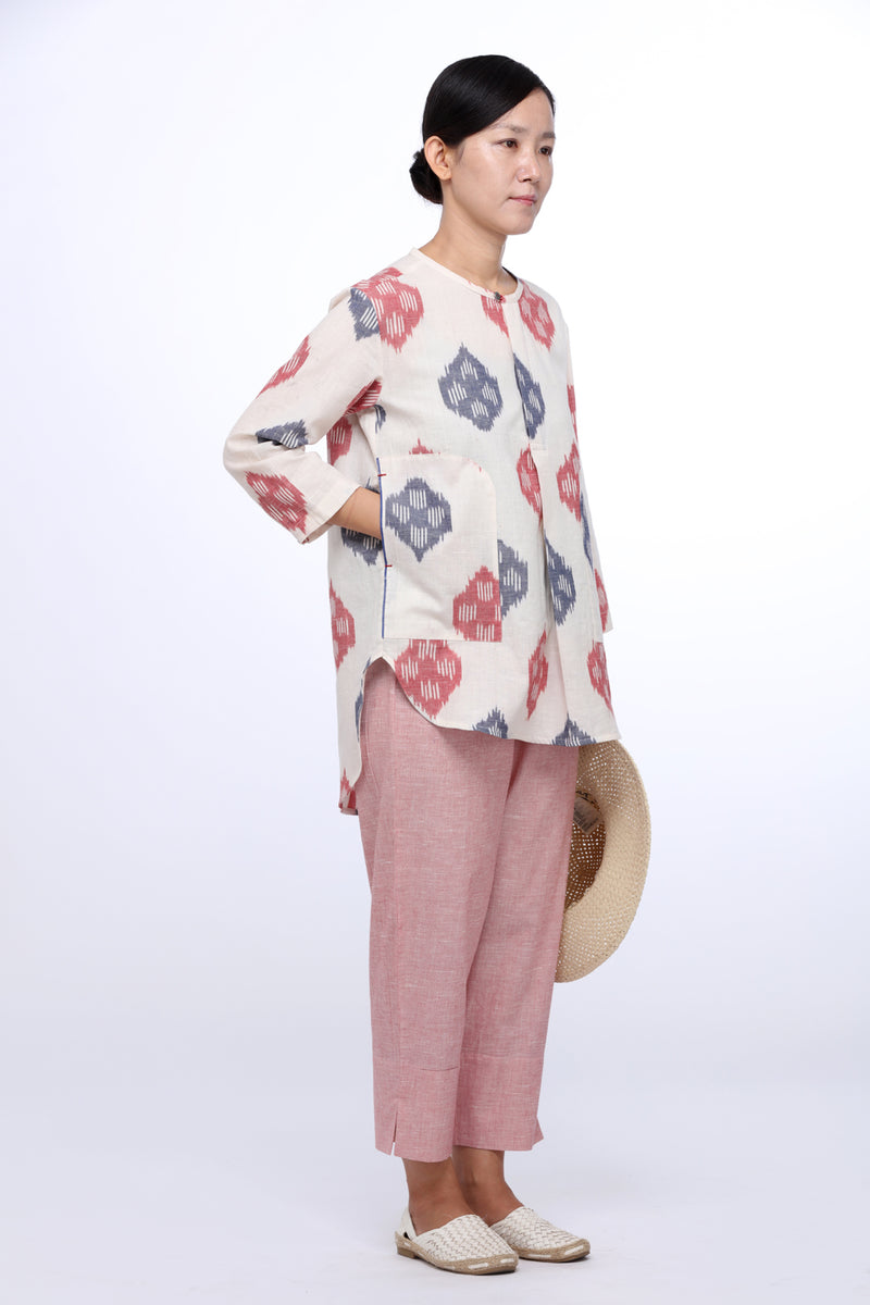 Lotus Stem Tunic Top