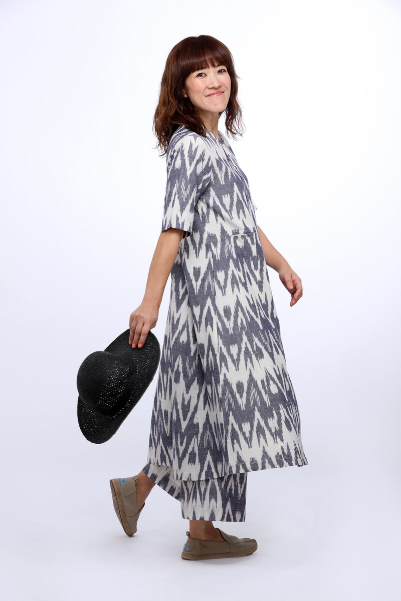 Zig Zag Summer Dress
