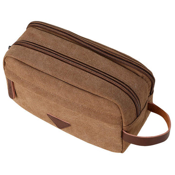 Trousse de toilette - dopp Kit - Tan
