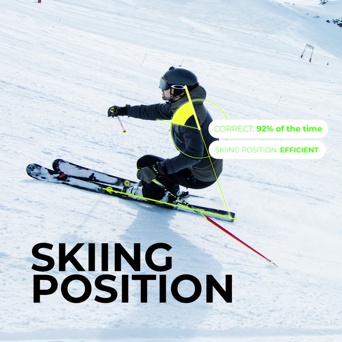 Skiing position