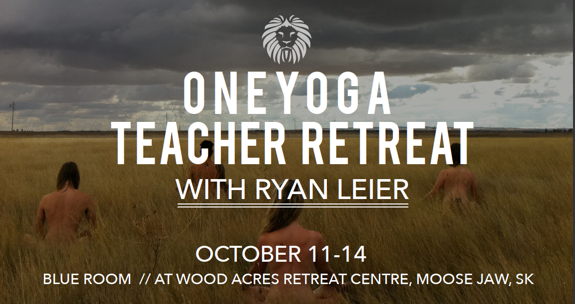 One Yoga Teacher Retreat F Banner