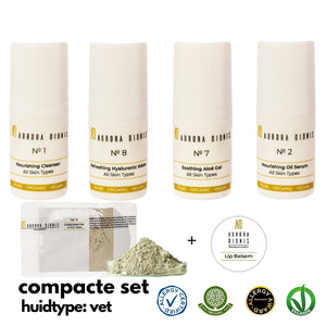 Compacte Set - Gemengde, Vette huid / acne, 5 high-end producten
