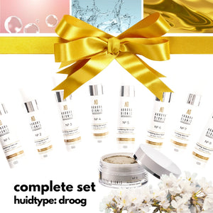 Complete set - Droge tot Zeer droge huid, 5 high-end producten