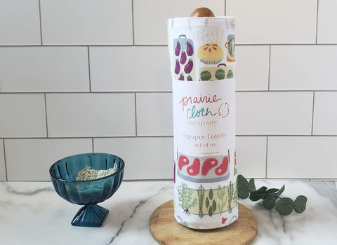 unpaper towels in farmer's market print