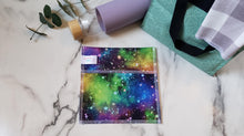 Load image into Gallery viewer, PUL Reusable Snack Bag: Galaxy