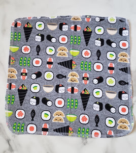 Unpaper Towels: Happy Sushi