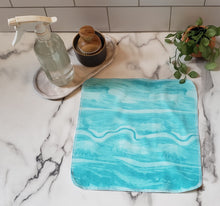 Load image into Gallery viewer, Unpaper Towels: Blue Swirls