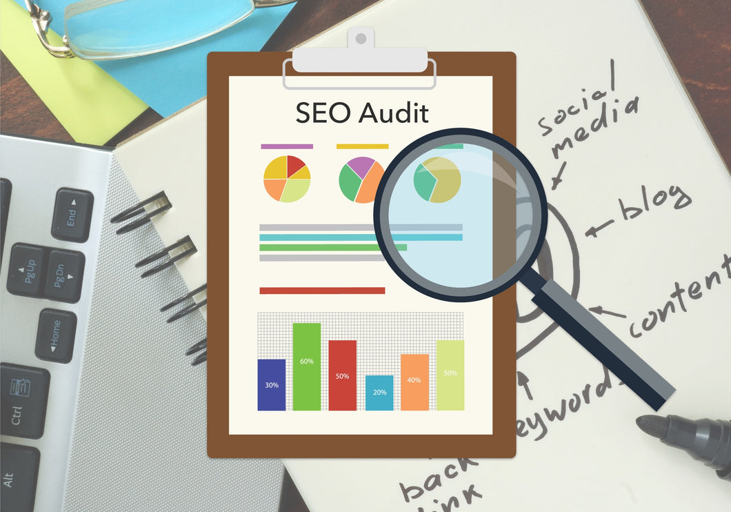 Comprehensive website SEO report