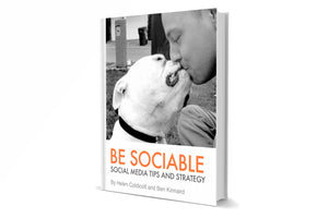 Be Sociable - A social media tips and strategy book (PDF)