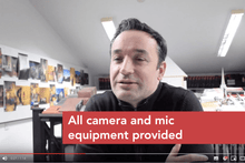 Load image into Gallery viewer, Client case study video filming and production
