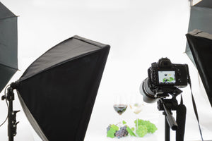 Product photography session at your office