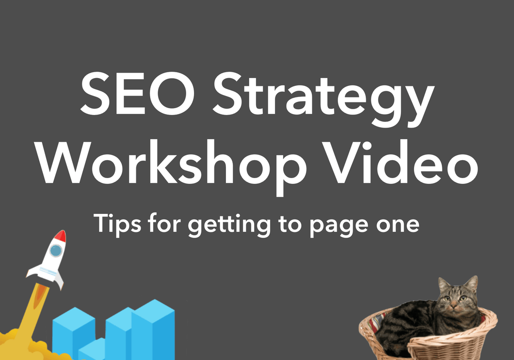 SEO Strategy Workshop Video
