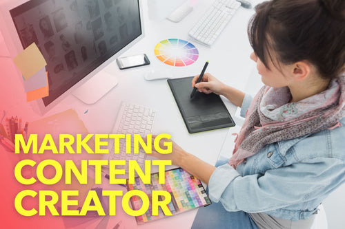 Create social and web content for your Marketing
