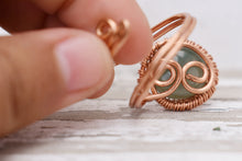 Load image into Gallery viewer, Jade Copper Ring