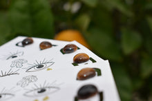 Load image into Gallery viewer, Tigers Eye Studs