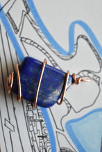 Load image into Gallery viewer, Lapis Lazuli Simple Copper  Pendant