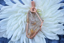 Load image into Gallery viewer, Elestial Quartz Pendant