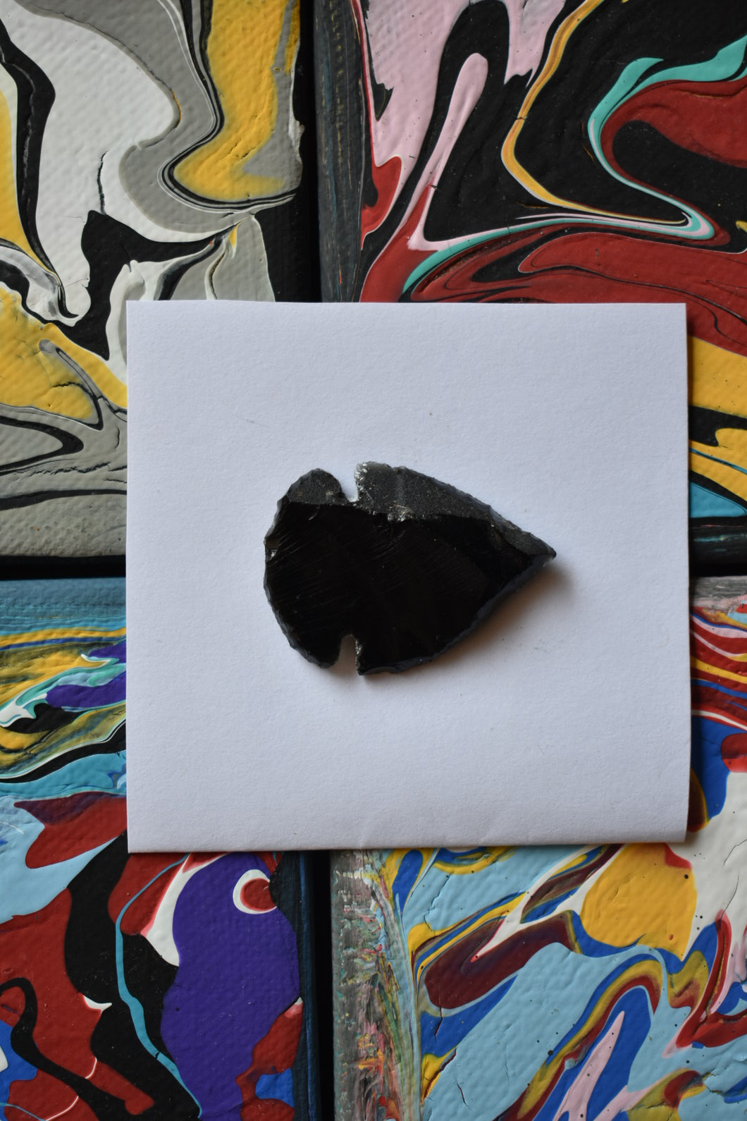 Small Obsidian Point (3)