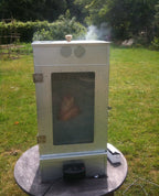Electric Smoker Working