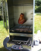 Electric smoker for meat smoking and fish smoking