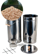 Round Fish Smoker Stainless Steel Bundle Deal