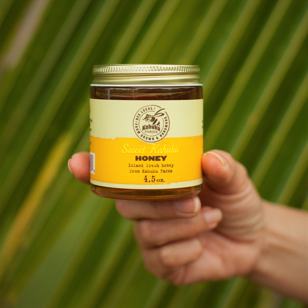 Kahuku Honey Jar