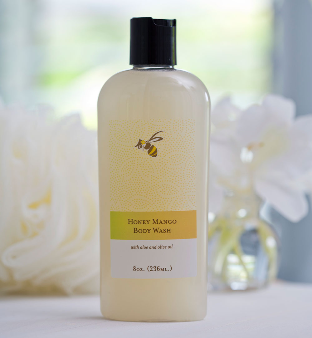 local farm product mango honey body wash