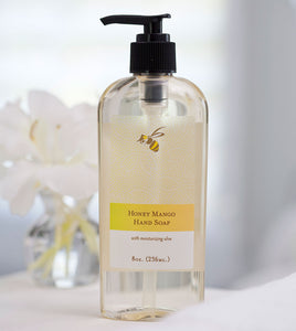 local farm made honey mango hand soap