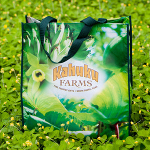 Reusable shopping bag hawaii local business tote