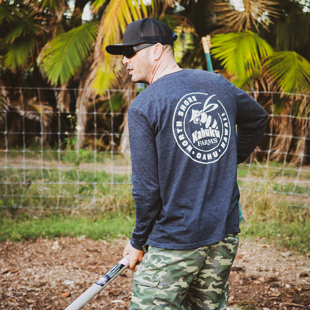long sleeve hawaiian shirt support local oahu business