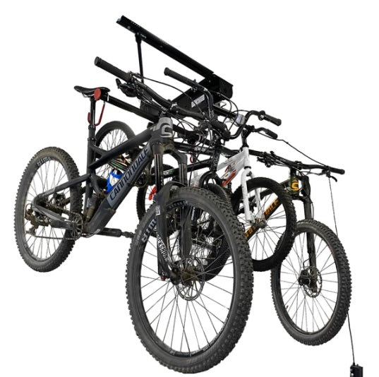 Proslat Garage Gator Compact 4 Bike Lift – 220 lb 68224K