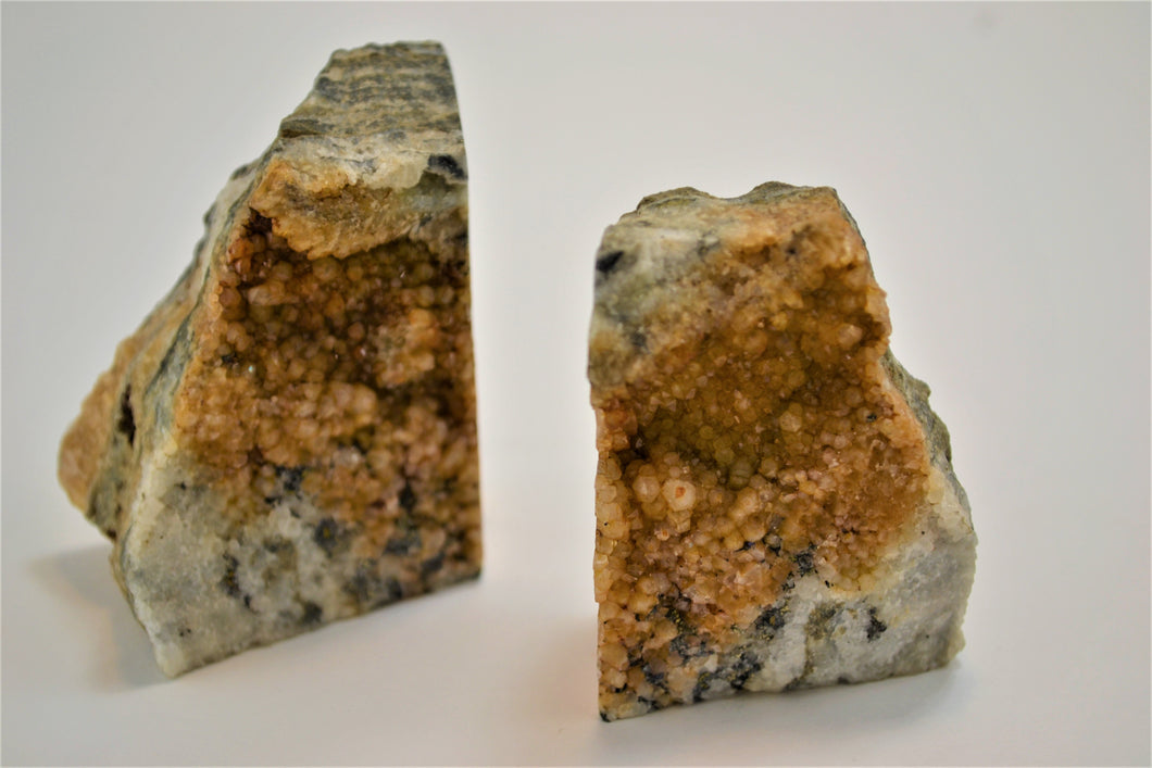Gold Ore Bookends