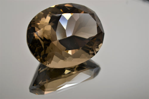 Smoky Quartz Gemstone (Faceted)