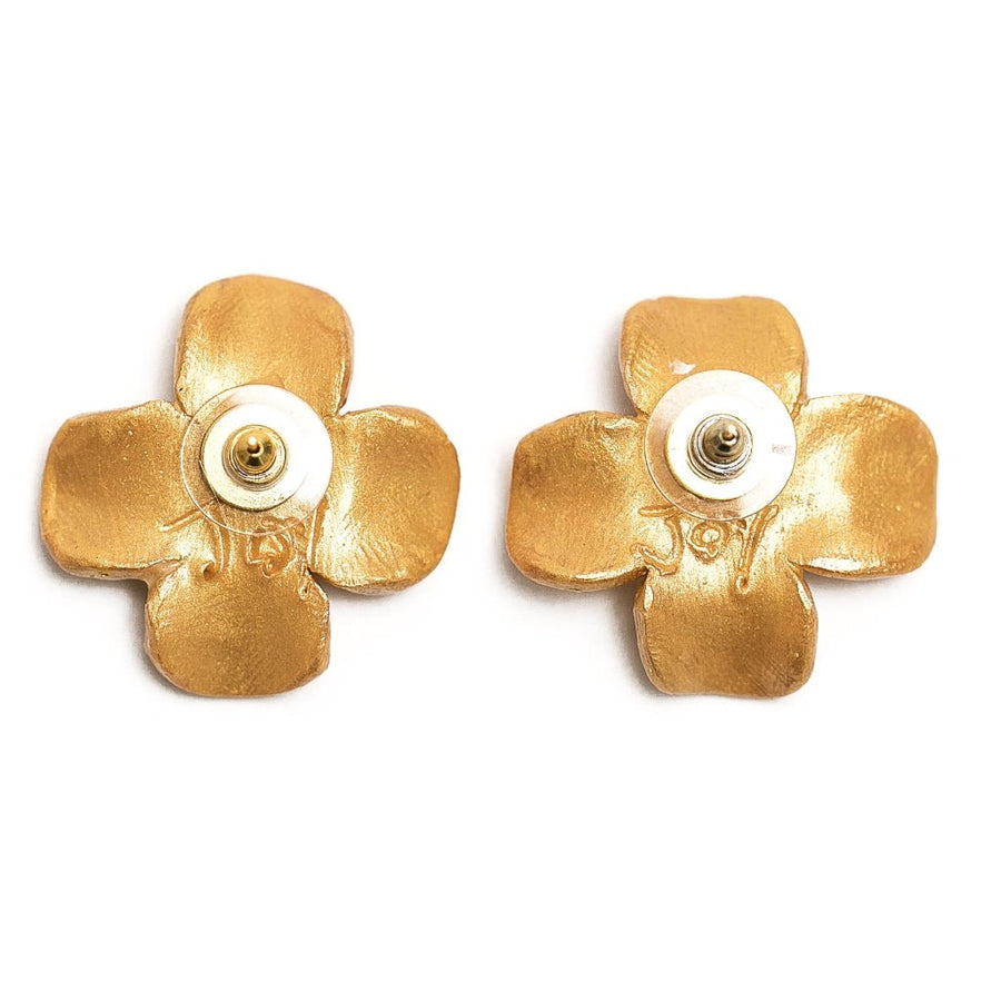 Dogwood Blossom Stud Earrings