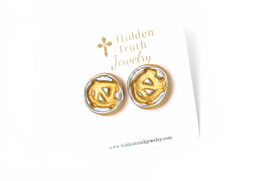 Silver/Gold NC Studs