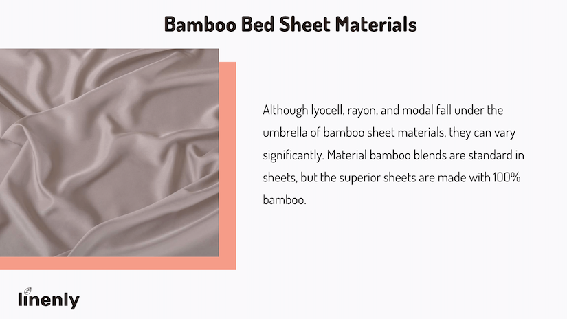 what are bamboo sheets made of infographic