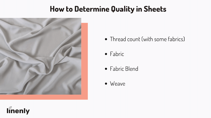 what are the best quality sheets infographic