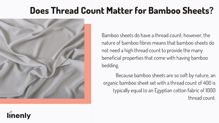 does thread count matter for bamboo sheets