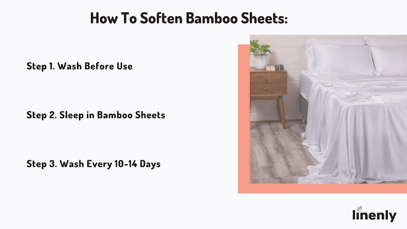 how to soften bamboo sheets