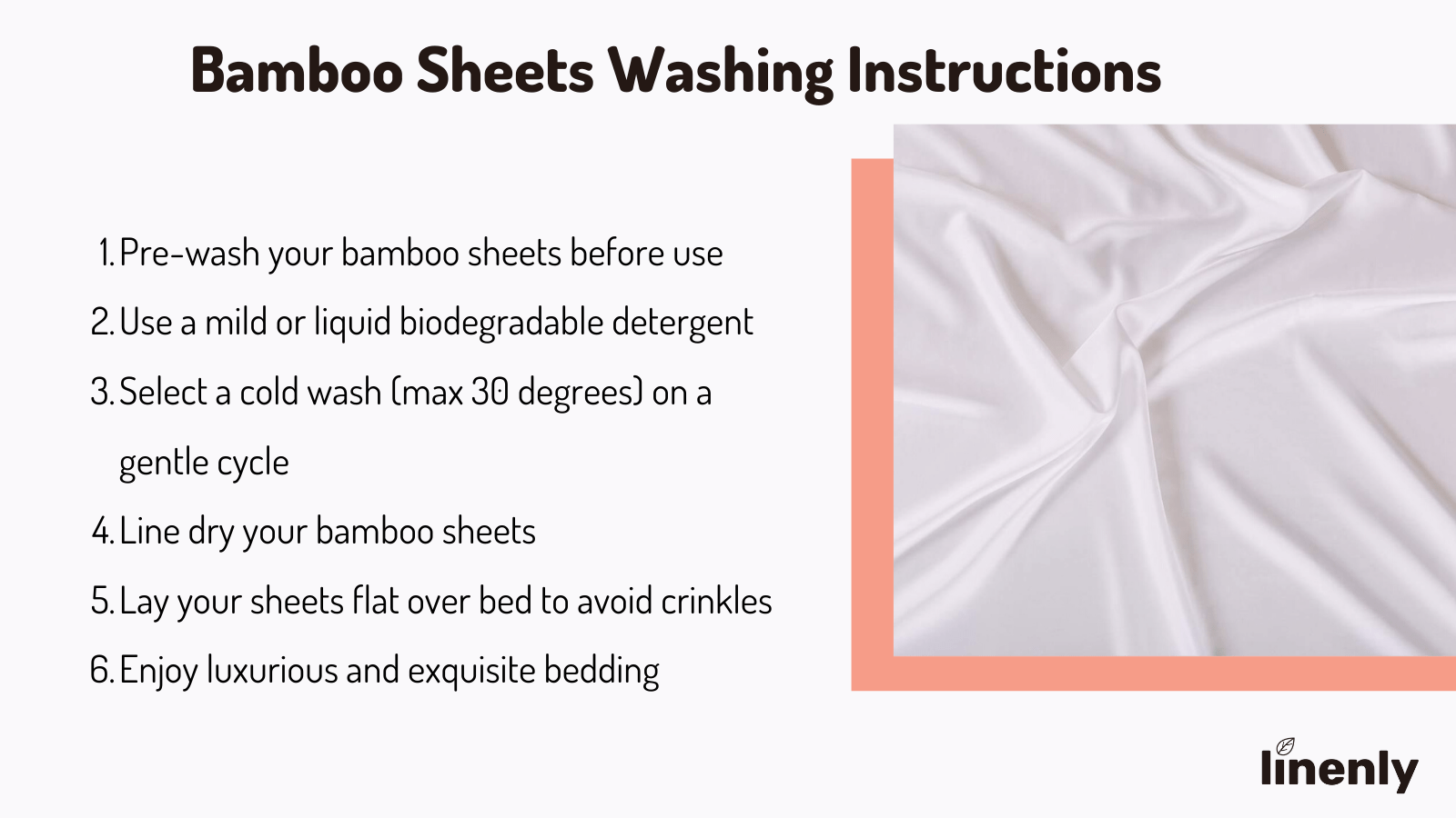 bamboo washing instructions