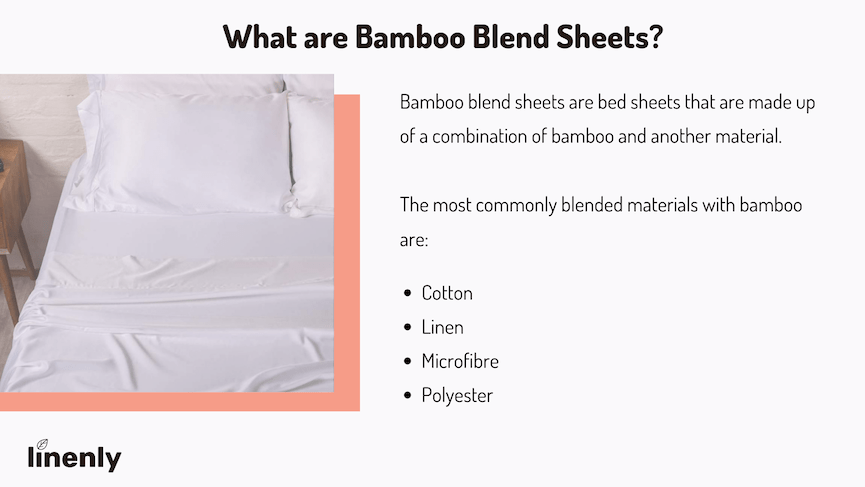 What are bamboo blend sheets
