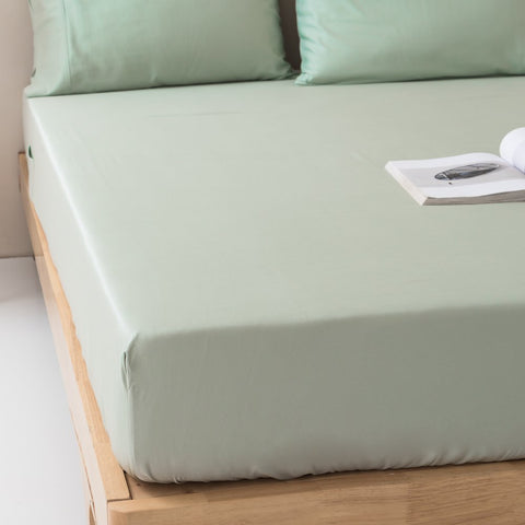 100% Organic Bamboo Fitted Sheet & Pillowcases (No Flat Sheet)