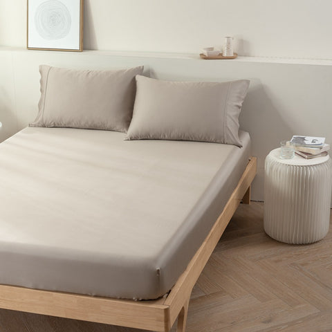100% Organic Bamboo Fitted Sheet & Pillowcases
